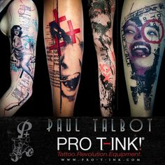 A proud welcome in our ProTeam to an amazing Artist: Paul Talbot (@paultlbt)!!! We're glad to have you on board!  Check out his great tattoos:  http://ift.tt/1pvp4vz  http://ift.tt/2l8hw5r  http://ift.tt/2lhp2xf  #paultalbot #paultlbt #postmoderntattoo #graphicdesign #graphicart #graphictattoo #thisisourstodestroy #fuckyoualejandro #postmodernism #postmodern #newavantgarde #protink #proteam #evo10 #evo24 #tattoostation #tattoosetup #inkpalettes #inktrays #bestequipment #toptattooartists…