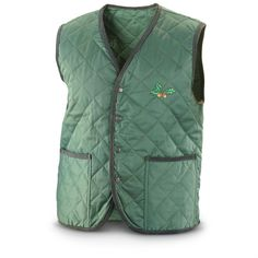 New Hungarian Quilted Hunting Vest