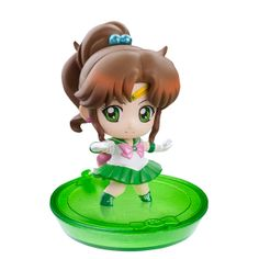 Sailor Jupiter! Japanese Petit Chara Sailor Moon Disk Models / Figures! Buy here! http://www.moonkitty.net/buy-bandai-tamashii-nations-sailor-moon-sh-figuruarts-figures-models.php #SailorMoon