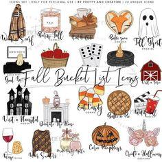 Get crafty with they craft that is easy. Halloween Bucket List, Herbst Bucket List, Autumn Bucket List, Autumn To Do List, Summer Bucket, Fun Fall Activities, Planner Supplies, Happy Fall Y'all, Pretty Dolls