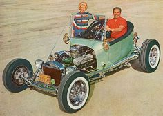 60's custom cars choppers | Speedboys: Hot Rods and Customs from early 60s