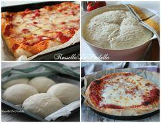PIZZA: ricette infallibili! Quattro ricette che non potete perdervi, da segnare nel vostro ricettario, dalla classica napoletana a quella senza impasto