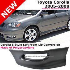 Toyota_Corolla_05-08_S_Style_Front_Driver_Lower_Body_Kit_Lip_Spoiler_PP_Black_171298580942 http://ift.tt/1US6sCJ http://ift.tt/1VXeiOX