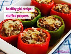 Healthy Girl Recipe: Stuffed Peppers | GirlsGuideTo