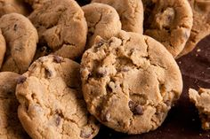 Vegan Chocolate Chip Cookies Recipe- baked for a couple of minutes longer than suggested in the recipe