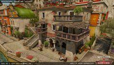 ArtStation - The Witcher 3 Architectural Material, Jacek Maj
