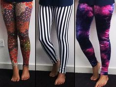 easy to follow tutorial on how to make your own leggings