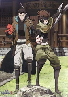 Sasuke and Katakura, Sengoku Basara