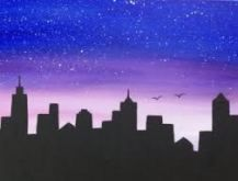 great from each other canvas painting diy, chalk paint furniture, sunset painting, chalk paint colors, painting rocks ideas. Check out other wonderful examples Easy Canvas Art, Simple Canvas Paintings, Small Canvas Art, Easy Canvas Painting, Diy Canvas, Wall Paintings, Sunset Painting Easy, Drawing Sunset, Night Sky Painting