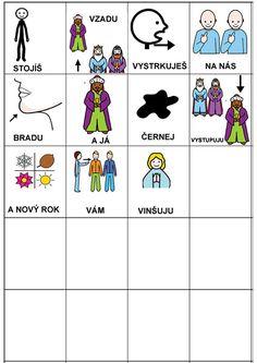 Pro Šíšu: My tri kralove Kids Rugs, Education, Comics, Logos, Advent, Christmas, Autism, School, Navidad