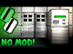 Security Key Card Activated Door! - Minecraft Tutorial - YouTube
