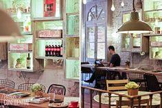 Maricastaña: Café-restaurante en Corredera Baja de S. Pablo, 12 (m: Callao) Madrid, Lovely Shop, San Pablo, Outdoor Decor, Trips, Europe, Places, Home Decor, Resep Pastry