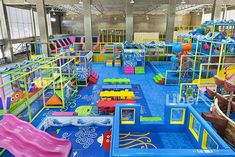 Liben Indoor Trampoline and Soft Play Center Project in Malaysia (7)
