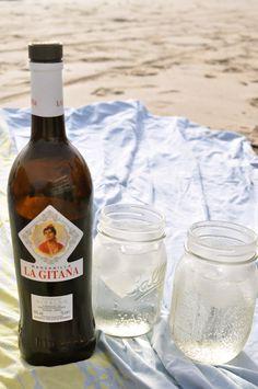 Rebujito recipe. Spanish feria drink made with manzanilla (sherry). Perfect for summer.