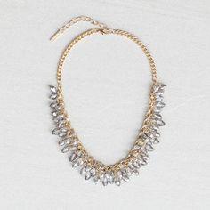 Sofia Charms Bib Necklace
