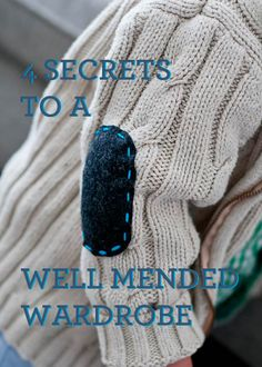 mending guide - this is not that hard. I can do this. I have the power to overcome my giant basket full of clothes with random holes.