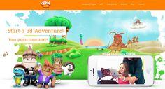 @Chromville App. App juego de realidad aumentada con dibujos que cobran vida | via: Crea y aprende con Laura: