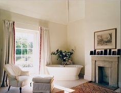 So here is our big window, the pop out wall(mantle) and the alcove for the tub - and its on an angle, interesting...
