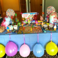 Candyland birthday party!