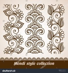 The vector file Henna Tattoo Mehndi Flower Template Vector CDR File is a Coreldraw cdr ( .cdr ) file type, size is KB, under henna, mehndi vectors. Arte Mehndi, Mehndi Art, Henna Art, Tattoo Henna, Henna Tattoo Designs, Mehandi Designs, Doodle Patterns, Henna Patterns, Zentangle Patterns