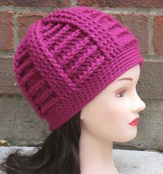 Ravelry: Bailey Textured Beanie pattern by Justine Walley
