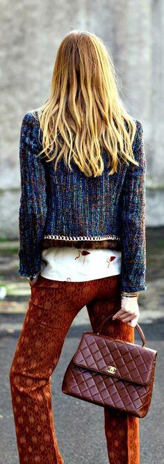 ♥ ♥ Street Chic ♥ Jacket, Pants & Bag
