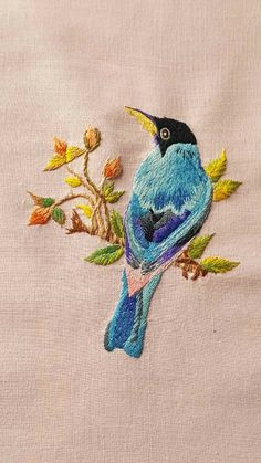 Grand Sewing Embroidery Designs At Home Ideas. Beauteous Finished Sewing Embroidery Designs At Home Ideas. Brazilian Embroidery Stitches, Crewel Embroidery Kits, Flower Embroidery Designs, Hand Embroidery Patterns, Vintage Embroidery, Cross Stitch Embroidery, Machine Embroidery, Embroidery Thread, Embroidery Tattoo