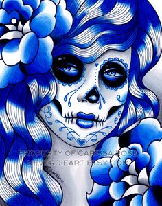 Spectrum Series - Blue by misscarissarose.deviantart.com on @deviantART