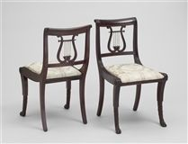 Lyre Back Chair Duncan Phyfe. Although I Love Chalk Paint, I Wouldnu0027t Paint  This Type Of Chair.