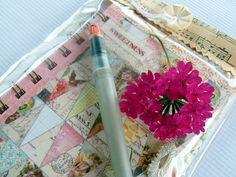 Notebook Journal Handmade 3 x 5 by cathymichaelsdesign on Etsy, $15.00