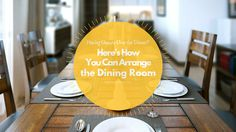 Mor Furniture Blog - Having Guests Over for Dinner? Here's How You Can Arrange the Dining Room | Mor Furniture for Less