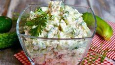 Pozor na tento salát, jakmile ho ochutnáte, nebudete chtít jiný a budete litovat, že jste tento recept neznali dříve: Je zdravý, dietní a hodí se i na chlebíčky jako pomazánka! - Guacamole, Mozzarella, Potato Salad, Food And Drink, Potatoes, Ethnic Recipes, Tasty Food Recipes, Salads, Potato