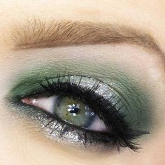 Perfect make up for green eyes