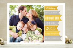 New Year Banners New Year's Photo Cards by SimpleTe Design at minted.com, $163 / 100