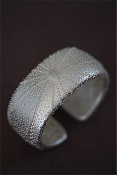 India Hicks - NEW Silver and Diamond Sea Urchin Bangle