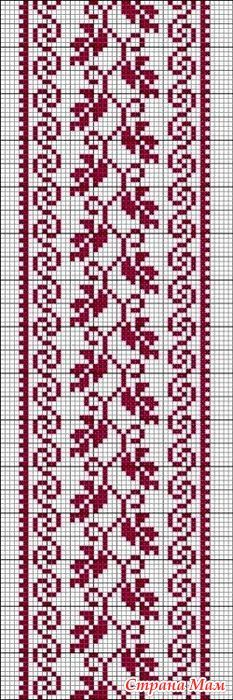 This Pin was discovered by tre Cross Stitch Bookmarks, Mini Cross Stitch, Cross Stitch Borders, Cross Stitch Flowers, Cross Stitch Designs, Cross Stitching, Cross Stitch Embroidery, Cross Stitch Patterns, Embroidery Flowers Pattern