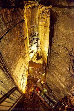 Mammoth Cave, Vertical shafts, historical tour