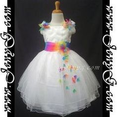 rainbow wedding dresses | Home > Clothing, Shoes & Accessories > Wedding Apparel & Accessories ...
