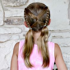 Inspired by @studiohilde. This picture is after a day at school, so it held up really well! . . . . #hairinspiration #hairstylesforgirls #hairstylesforlittlegirls #littlegirlhair #littlegirlhairideas #littlegirlhairstyles #braidstyles #braidsforgirls #braidsforlittlegirls #pigtails