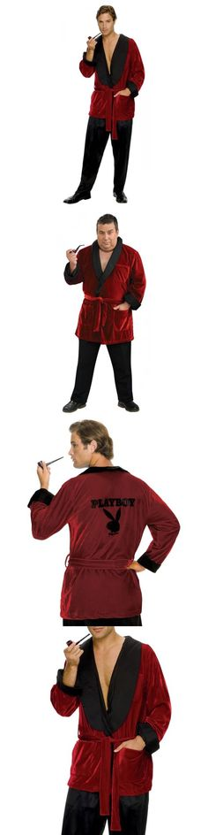 Men 52762: Hugh Hefner Costume Adult Smoking Jacket Playboy Halloween Fancy Dress -> BUY IT NOW ONLY: $47.29 on eBay!