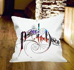 Panic at The Disco Pillow Cover by wongsshop by wongsshop on Etsy, $14.00