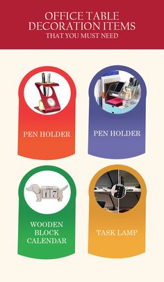 Must Have Office Table Decoration Items To Prettify Your Workspace  #Office_Table_Decoration