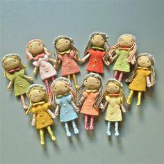 Felt dolls  All About Amelie