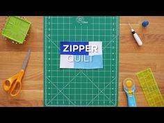 """Click here for the full tutorial: http://bit.ly/ZipperQuilt_QS At Missouri Star Quilt Co we have a strong love for precuts. Here is a super simple tutorial on how to use up those wonderful little 5""""sq"""