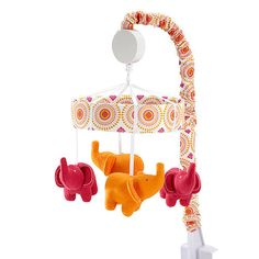 "Happy Chic Baby by Jonathan Adler - Party Elephant Musical Mobile - Happy Chic Baby by Jonathan Ad - Babies ""R"" Us"