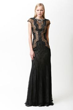 Badgley Mischka | Pre-Fall 2013 Collection | Style.com