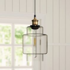 Borough Wharf Rustic style pendant with a antique brass finish and clear glass. Vintage Lighting, Pendant Lighting, Light, Hallway Pendant Lighting, Soft Lighting, Glass Pendant Light, Swag Light, Glass Bulbs, Light Fittings