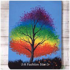 Beginner Art, Beginner Painting, Painting Ideas For Beginners, Painting Videos, Painting & Drawing, Painting Quotes, Easy Canvas Painting, Canvas Art, Tree House Decor