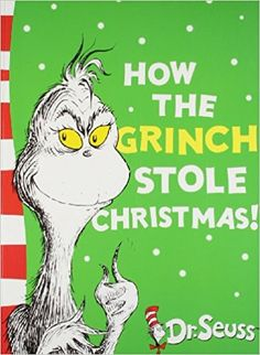 How the Grinch Stole Christmas!: Yellow Back Book (Dr. Seuss – Yellow Back Book)… How the Grinch Stole Christmas!: Yellow Back Book (Dr. Seuss – Yellow Back Book) by Dr. The Grinch Book, Le Grinch, Grinch Who Stole Christmas, Best Christmas Books, Christmas Colors, Christmas Fun, Christmas Stocking, Dr. Seuss, Images Grinch