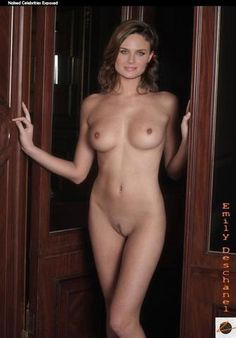 Naked Emily Deschanel image